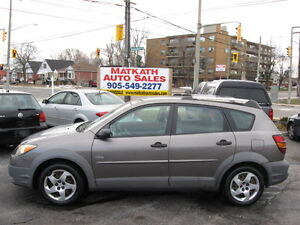 **2003 Pontiac Vibe**Auto & Air Cond., Certified & E-tested