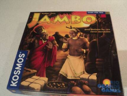 Jambo board game 2004 Kosmos