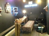 TRIO OF BEAUTY ROOMS TO RENT IN BUSY HAIR SALON CHINGFORD