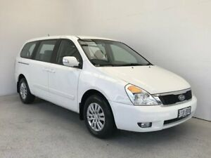 2013 Kia Grand Carnival VQ MY14 S White 6 Speed Sports Automatic Wagon Mount Gambier Grant Area Preview