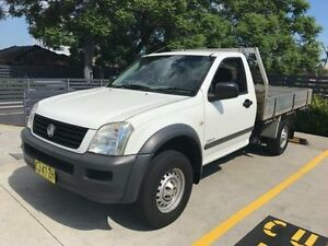 2005 Holden Rodeo RA DX White 5 Speed Manual Cab Chassis Burwood Burwood Area Preview