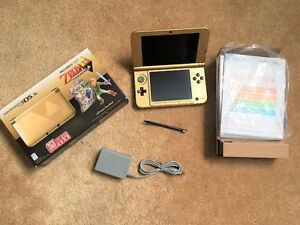 3DS XL Special Limited edition Zelda Link Between Worlds