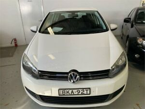 2009 Volkswagen Golf 1K 6th Gen 118 TSI Comfortline Candy White 7 Speed Auto Direct Shift Hatchback Fyshwick South Canberra Preview