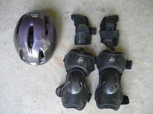 Helmet, Knee Pads, & Wrist Guards