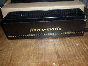 FIRST $35.00 TAKES THEM ~RARE ~4X HANIMEX 35mm Deluxe Holders ~