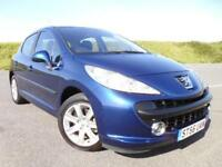 PEUGEOT 207 1.6 16v SPORT, 5DOOR, LOW MILEAGE, FSH,CAMBELT DONE, NEW CLUTCH !!