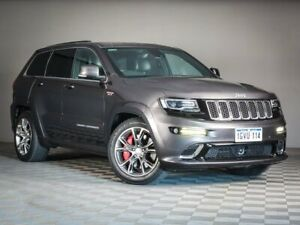 2014 Jeep Grand Cherokee WK MY2014 SRT Grey 8 Speed Sports Automatic Wagon Maddington Gosnells Area Preview
