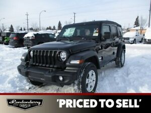 2019 Jeep Wrangler Unlimited SPORT          5 INCH TOUCHSCREEN