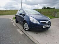 VAUXHALL CORSA 1.0 LIFE 3d 60 BHP 6 Months RAC Recovery (blue) 2009