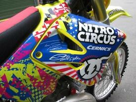 SUZUKI RM 250 K8 2008 MOTOCROSS MX BIKE