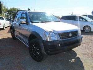 2006 Holden Rodeo RA MY06 LT Crew Cab Silver 4 Speed Automatic Utility Minchinbury Blacktown Area Preview