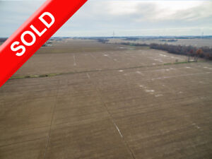 SOLD! Lg 102 Acre Parcel with 91 Workable in Lakeshore/Tilbury