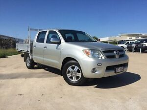 2008 Toyota Hilux GGN15R MY08 SR5 Xtra Cab Silver 5 Speed Automatic Utility Garbutt Townsville City Preview