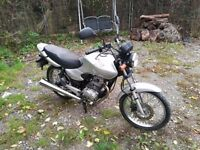honda cg 125 12 months mot 2 sets of keys low millage
