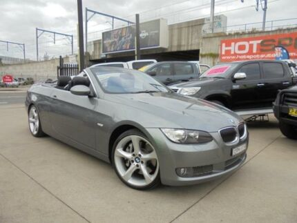 2007 BMW 335i E93 MY08 Grey Auto Sports Mode Convertible Granville Parramatta Area Preview