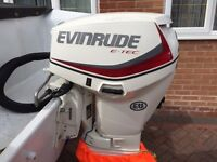 EVINRUDE ETEC OUTBOARD ENGINE 2014