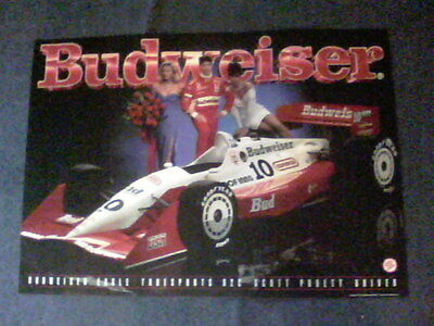 1992 Budweiser Eagle True Sports 92 C Scott Pruett Driver 28 by 20