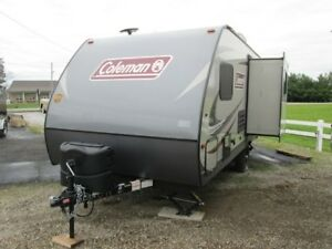 2018 COLEMAN 1625RB LIGHT LX PACKAGE