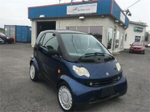 SMART FORTWO 2005 CDI DIESEL/AUTO/AC/MAGS/TOIT PANO/BAS KM