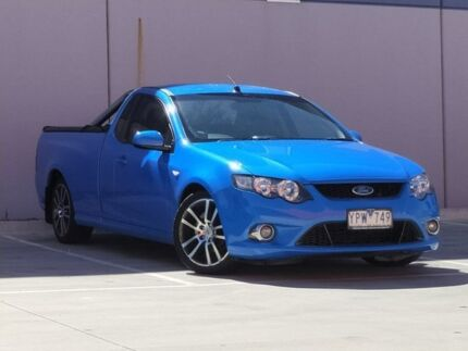 2011 Ford Falcon FG XR6 Ute Super Cab Limited Edition Blue 6 Speed Sports Automatic Utility Ravenhall Melton Area Preview