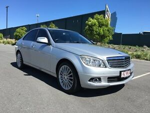 2007 Mercedes-Benz C320 W204 CDI Elegance Silver 7 Speed Automatic Sedan Arundel Gold Coast City Preview