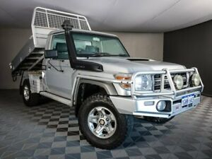 2015 Toyota Landcruiser VDJ79R GXL Silver 5 Speed Manual Cab Chassis