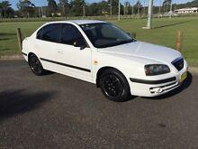 2003 Hyundai Elantra XD 2.0 HVT White 5 Speed Manual Sedan West Gosford Gosford Area Preview