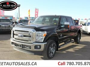 2011 Ford F-350 Lariat 4x4 Super Crew SUNROOF DIESEL !!
