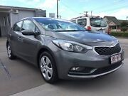 2015 Kia Cerato YD MY15 S Grey 6 Speed Sports Automatic Hatchback Pialba Fraser Coast Preview