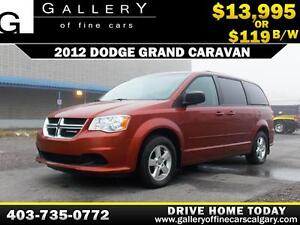 2012 Dodge Grand Caravan SE $119 BI-WEEKLY APPLY NOW DRIVE NOW