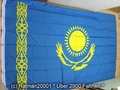 Fahnen Flagge Kasachstan - 1 - 150 x 250 cm