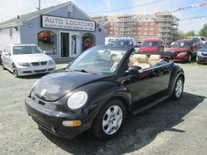 2003 Volkswagen New Beetle GLS...CONVERTIBLE!!! A/C, LEATHER