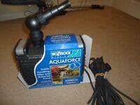 Hozelock Aquaforce 2500 Pond Pump Brand New Unused