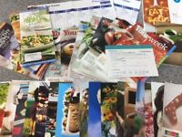 Huge selection of Weightwatchers Weight Watchers recipe leaflets, advice, tracker etc
