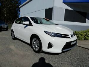 2013 Toyota Corolla ZRE182R Ascent S-CVT White 7 Speed Constant Variable Hatchback Glendale Lake Macquarie Area Preview
