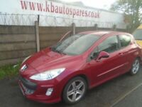 breaking for spares peugeot 308 1.6 hdi