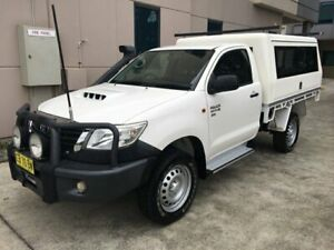Toyota Hilux 2014 SR 4x4 Diesel with Service body or camper setup Seven Hills Blacktown Area Preview