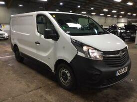 Vauxhall Vivaro 1.6ctdi white Van