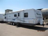 Wow!!! Terry 32' with 4 Singles Bunk Room and Double Slide!!!