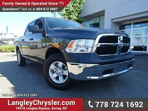 2016 RAM 1500 ST W/ 4X4, TOW PACKAGE & A/C