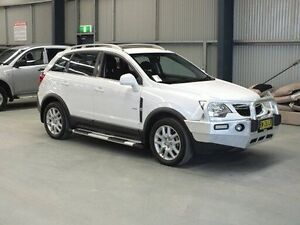 2013 Holden Captiva CG MY12 5 (FWD) White 6 Speed Automatic Wagon Dubbo Dubbo Area Preview