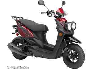 YAMAHA BWS 50 DULL RED METALLIC 2017
