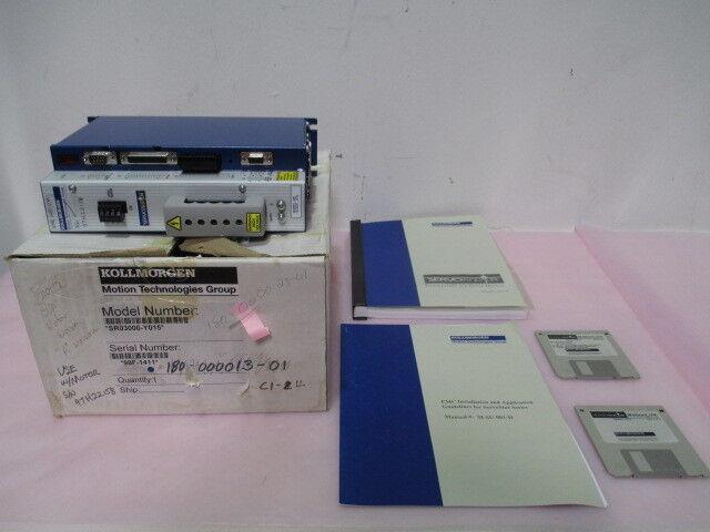 Kollmorgen SR03000-Y015 ServoStar Amplifier Drive, 140/310 VDC, 330360