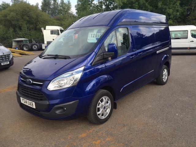 ford transit custom 2 2tdci 125ps 2013 5my 290 l2h2 limited in newport gumtree. Black Bedroom Furniture Sets. Home Design Ideas