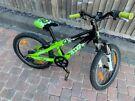 Scott Jr20 Voltage Children's Mountain Bike Green, 20 inch wheels. Good Condition!