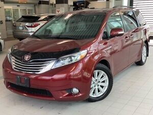 2016 Toyota Sienna Limited 7-Pass Certified 1-Owner Nav Leather