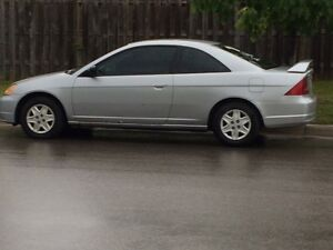 2003 Honda Civic LX Coupe (2 door)
