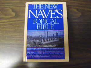 """""""The New Nave's Topical Bible""""-- TRURO"""