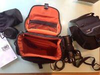 Nikon D90 Digital SLR Camera + 2 Lenses + Extras + 2 Bags