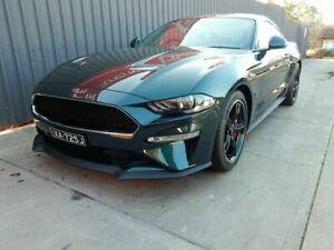 2018 Ford Mustang FN 2019MY BULLITT Green 6 Speed Manual Fastback Blair Athol Port Adelaide Area Preview